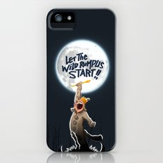 Where the wild things are Slim Case iPhone (5, 5s)