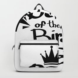 Daddy of the Birthday Girl Fuuny Party Backpack