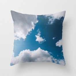 turtle cloud Throw Pillow