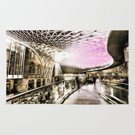Futuristic London Art Rug