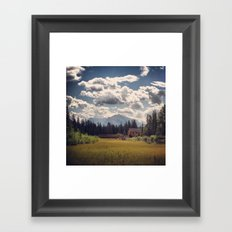 Mountain Watershed Framed Art Print
