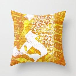 Haa Throw Pillow