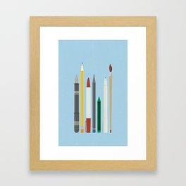 Write Stuff Framed Art Print