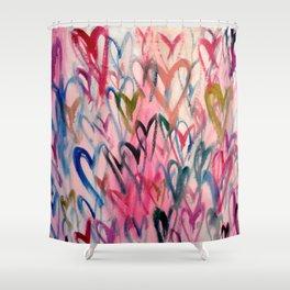 My Love Heart Shower Curtain