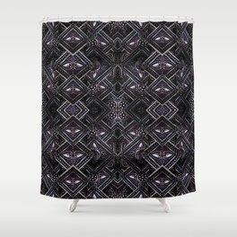 Luxury Jewels Pattern Shower Curtain