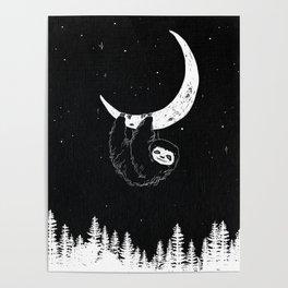 Goodnight Sloth Poster