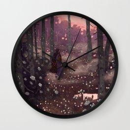 Nightingale Wall Clock