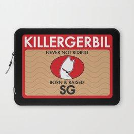 Killer Gerbil Red Tubing Laptop Sleeve