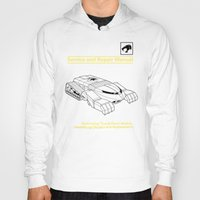 thundercats Hoodies featuring Thundertank Service and Repair Manual by adho1982