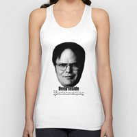 dwight Tank Tops featuring Dwight - Perfectenschlag by Thomas Rolfe