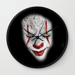 Pennywise remake tribute Wall Clock