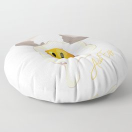Acid Egg Floor Pillow