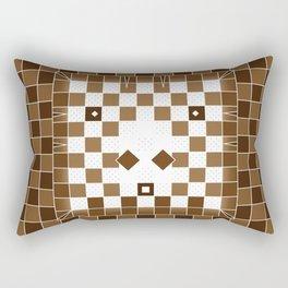 Pixel Donkey Rectangular Pillow