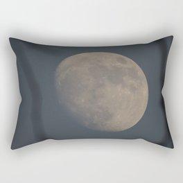 Moon at Three-Quarters Rectangular Pillow