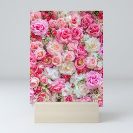 Pink & Red Roses Mini Art Print