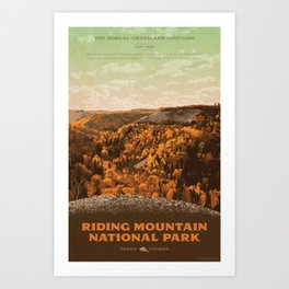 Riding Mountain National Park Art Print