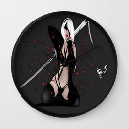 My artwork  Nier autómata Wall Clock