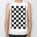 Black & White Checkered Pattern by lainey1978