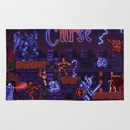 Curse Vania Dracula's Castle 3 Rug