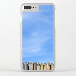 sharp stockade Clear iPhone Case