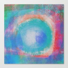 Bright Blue Note Canvas Print