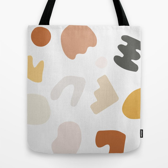Abstract Shape Series - Autumn Color Study Tote Bag