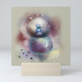 Let it Snow Mini Art Print