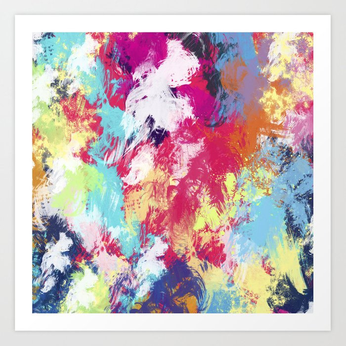 Abstract 39 Art Print by uniqued   Society6 - photo #3
