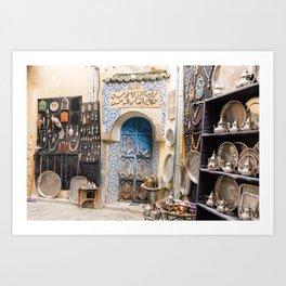 Doorway - Fes Ancient Medina Art Print