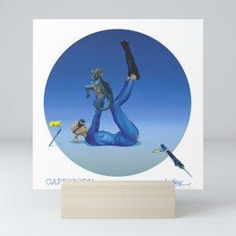 CALENDAR: CAPRICORN by Pascal Mini Art Print