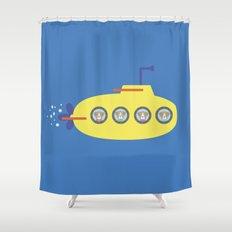 The Beagles - Yellow Submarine Shower Curtain