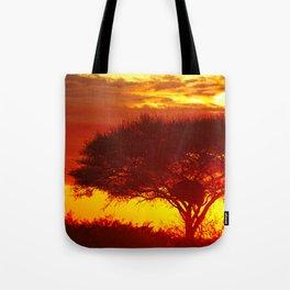 Glowing African Morning Tote Bag