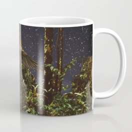 CREATURE OF THE NIGHT DIGITAL COLLAGE Coffee Mug