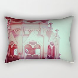 Romantic Tower Photograph Rectangular Pillow