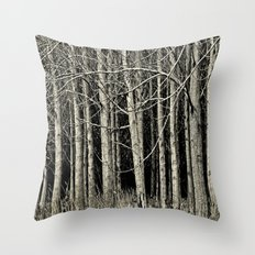 Cottonwoods Throw Pillow