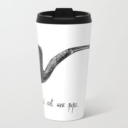 LA TRAHISON DES IMAGES Travel Mug
