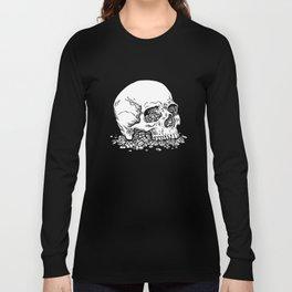Skull on Pills Long Sleeve T-shirt