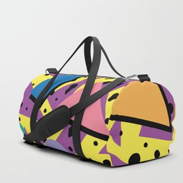Memphis Pattern 21 - 80s / 90s Retro Duffle Bag
