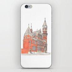 NYC Jefferson Market Library iPhone & iPod Skin