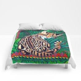 ocelot 1 Comforters