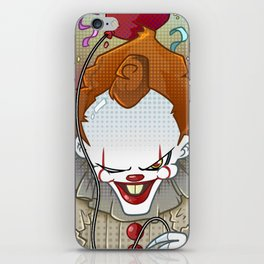 Pennywise IT 2017 iPhone Skin