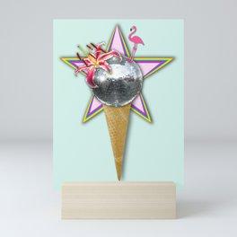 DISCO ICE CREAM Mini Art Print