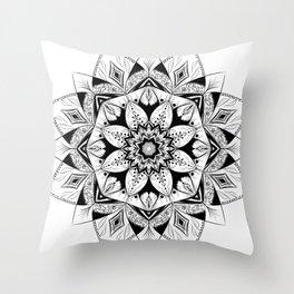 """Flower"" mandala Throw Pillow"