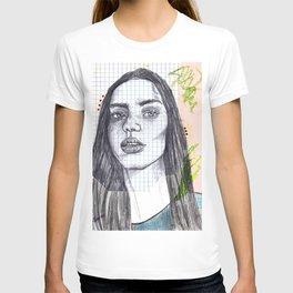 Mixed Media Sketch T-shirt