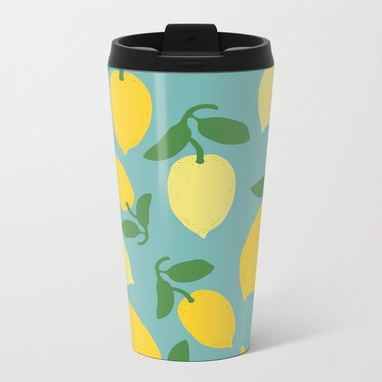 Le Citron Metal Travel Mug