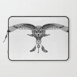 The owl is dreaming Laptop Sleeve