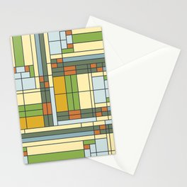 Stained glass pattern S01 Stationery Cards