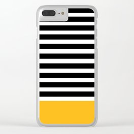 Stripes 101 Clear iPhone Case