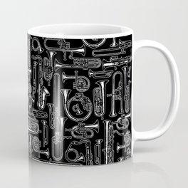 Horns B&W Coffee Mug