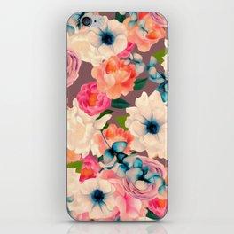 Peachy Blooms iPhone Skin
